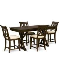 baker street dining table great deals on baker street pub expandable dining furniture 5 pc
