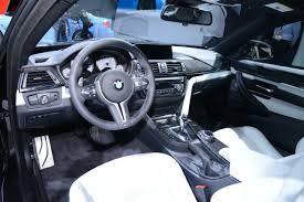 Bmw M4 Interior 2014 Detroit Show Bmw M4 Interior