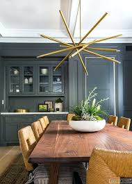 Brass Dining Room Chandelier Dining Room Fixtures Contemporary Interiors Charcoal Gray