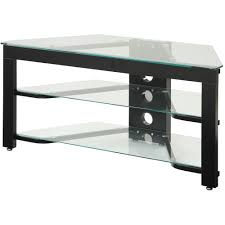 Tv Stands With Mount Walmart Convenience Concepts Designs2go Wood And Glass Tv Stand For Tvs Up