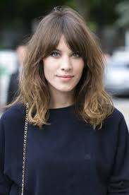 layered medium length hairstyles with bangs shoulder length hairstyles guide