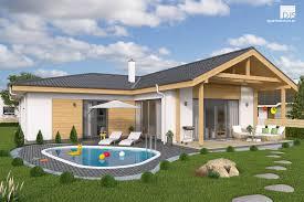 plan of l shaped house bungalow l135 djs architecture