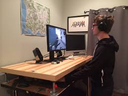 Desk Stand Up by Desk Stand Up Desks Amazon Within Finest A Year Of Pc Gaming