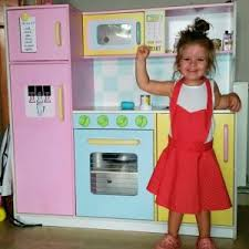 Kidkraft Kitchen Red - large pastel kitchen