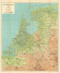 netherlands map netherlands 1944 map wwii netherlands escape lines