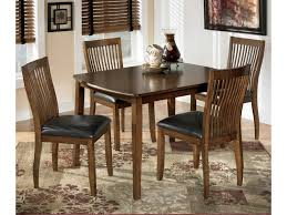 furniture rectangular pub table ashley dinette sets oak