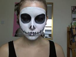 Skeleton Face Paint For Halloween by Skeleton Face Makeup Instructions Mugeek Vidalondon