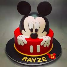 kids birthday cakes kids birthday cake mickey picture of deliciae patisserie