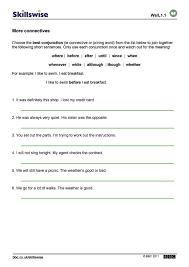 time worksheet new 489 time connectives worksheets