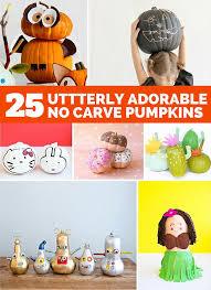 25 UTTERLY ADORABLE NO CARVE PUMPKIN DECORATING IDEAS FOR KIDS