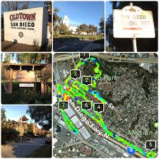Map Of Old Town San Diego by 7 24 Mile Presidio Park Old Town And Heritage Park Run U2013 San