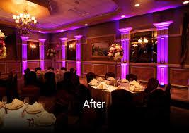 led lighting for banquet halls stunning affordable uplighting event entertainment