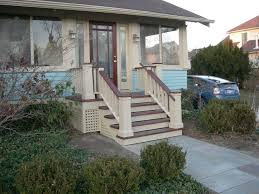 Back Stairs Design Fabulous Back Porch Stairs Design 10 Best Images About Porch On