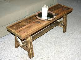 Coffee Table Styles by Coffee Table Country Pine Antique 1900 Cobbler Bench Or Coffee