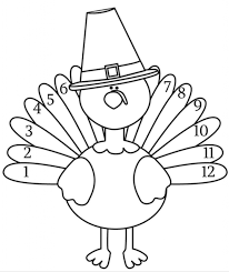 turkey body coloring page aecost net aecost net