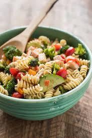 pasta salad greek pasta salad with feta neighborfood
