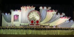 wedding reception decorations hyderabad wedding stage flower and