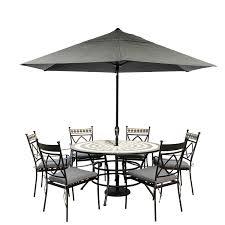 garden furniture with parasol interior design