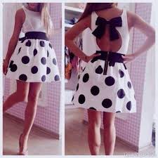 cute black u0026 white polka dot dress pictures photos and images