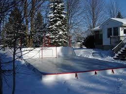 outdoor ice rink liners tarps world class gold standard