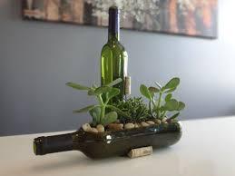 Wine Bottle Planters by 120 Best Fun With Bottles Images On Pinterest Beer Bottles Diy