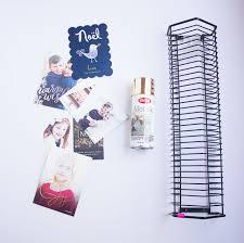 christmas card display holder thrifty diy card holder design improvised