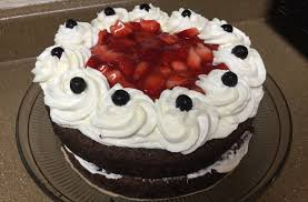 chocolate coffee tres leches cake whipped cream cheese frosting
