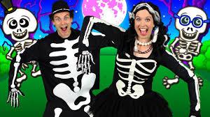 the skeleton dance kids halloween song halloween songs for