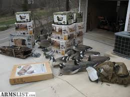 armslist for sale decoys goose duck layout blinds etc