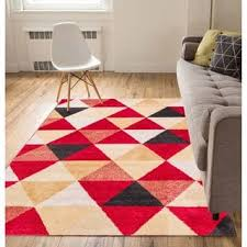 well woven mid century modern geometric runner rug 2 u0027 x 7 u00273
