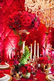 Red Roses Centerpieces Dramatic Red Shoot Inspired By Disney U0027s Beauty And The Beast