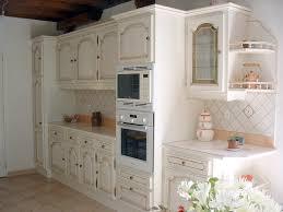 cuisine blanc cérusé du bois duffour du meuble cuisine