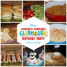 mickey mouse party ideas 8 mickey mouse birthday party menu ideas the two bite club