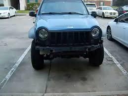 jeep liberty front bumper jeep liberty custom front bumper youtube