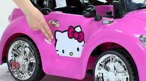 pink sparkly cars 8801 61 hello kitty karaoke car product video youtube