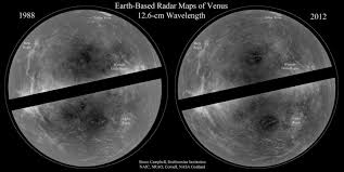 Venus Map Of Venus