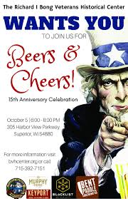 cartoon beer cheers events richard i bong veterans historical center