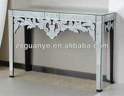 venetion style with etching glass console table buy antique