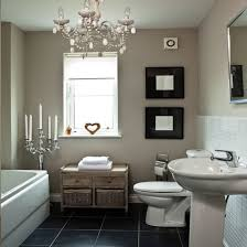 shabby chic black and white bathroom black and white cottage