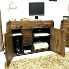 Corner Hideaway Computer Desk Corner Hideaway Computer Desk Tandemdesigns Co