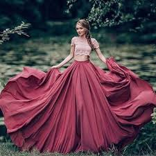 quinse era dresses gown prom dress new gorgeous burgundy sweep lace sweet