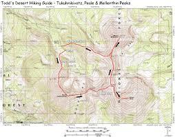 Utah Topo Maps by Tukuhnikivatz Peale U0026 Mellenthin Peaks