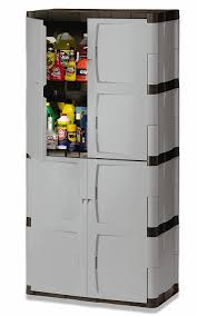 rubbermaid plastic storage cabinets with doors storage decoration