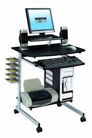 Corner Workstation Computer Desk by Desks Computer Desks Portable Computer Desk On Wheels Space
