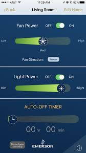 Bluetooth Ceiling Fan by Emerson Ceiling Fans Bluetooth Fan Control On The App Store
