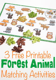 printable animal activities forest animal pin2 jpg