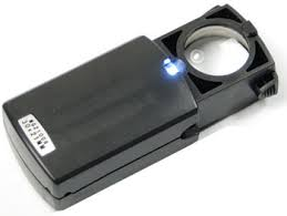 pocket magnifier with light best quality jewellers loupes 10x 12x 14x power magnification