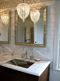 lighting in bathrooms ideas lighting idea chandelier ceiling light bathroom vanity