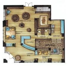 interior floor plans interior design renderings by tila nguyen via behance for