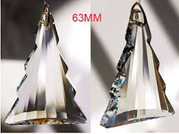 10pcs lot 63mm chandelier prism ornaments suncatcher prism
